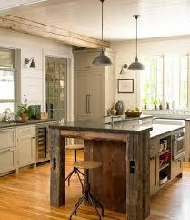 cuisine rustique moderne decoration cuisine rustique idées de design maison et idées
