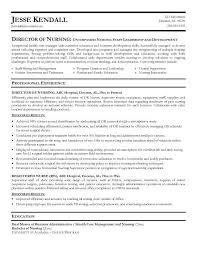 Director Of Development Resume Director Of Nursing Resume Template Billybullock Us