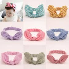 elastic headbands newborn bebe knot headband hair bow bandeau bebe turban kids