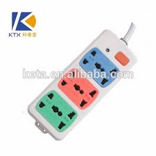 6 ways wall electrical multiple plug power switch socket of any