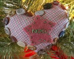 Felt Heart Christmas Ornaments Diy Christmas Ornaments U2013 Puddy U0027s House