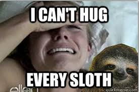 Sloth Meme Pictures - is kristen bell s sloth meltdown meme worthy images