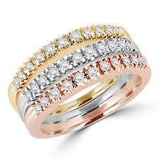 stackable wedding bands stackable wedding band bijoux majesty