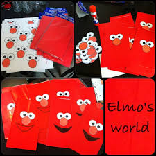 elmo party supplies diy elmo party bags elmo party elmo party elmo