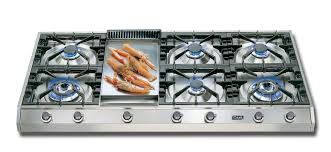 Italian Cooktop 48 U2033 Professional Gas Cooktop Eurochef Usa