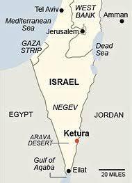 negev desert map kibbutz in desert turns to solar power the york times