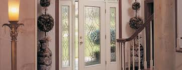 Exterior Glass Door Inserts Ow To Replace Glass Insert For Exterior Door Diy Door Projects