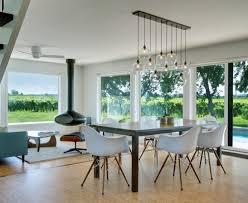 beautiful expandable dining table in dining room contemporary with