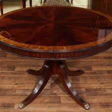 round kitchen table with leaf round dining table with leaf round mahogany dining table oval round
