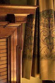 Arts And Crafts Style Curtains Gentle Stewards For A 1908 House Bungalow And House