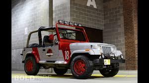 jurassic park tour car jeep wrangler jurassic park