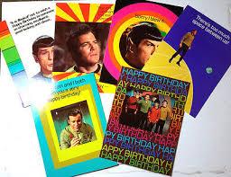star trek birthday cards collection on ebay