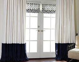 Two Tone Curtains Two Tone Curtains Etsy