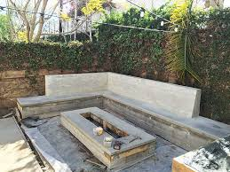 Concrete Firepit Los Angeles Outdoor Kitchens Outdoor Fireplaces Outdoor Firepits