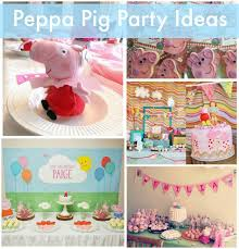 peppa pig party playful peppa pig party ideas