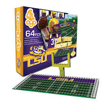 lsu lego fieldset by oyo sports tiger people clothiers