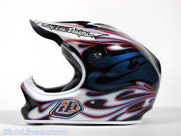 tld motocross helmets 2007 troy lee designs d2 carbon flame helmet sick lines