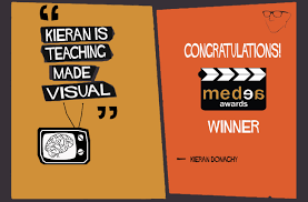 congratulation poster wins medea award
