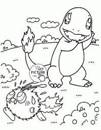 pokemon mankey coloring pages kids pokemon characters