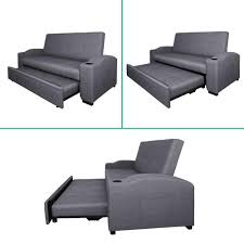 slide out sofa bed 3 seater pull out sofa bed grey furniture wizard