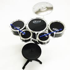 black friday electronic drum set kids black 5 pc drum toys boys girls music children black drum set