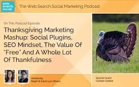 thanksgiving marketing mashup social plugins seo mindset the