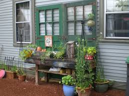exterior outdoor potting bench with sink inspiring home