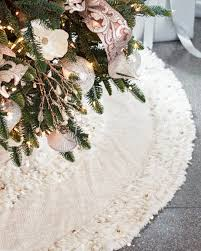 tree skirts juliette artisan christmas tree skirt balsam hill