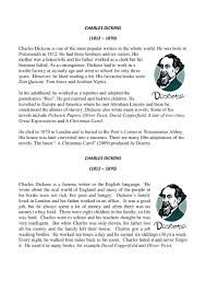 very short biography charles dickens charles dickens biographies