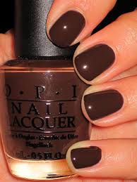 this just screams chocolate at me and i love it opi suzi loves