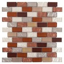 Glass Tile Backsplash by Burgundy Red Glass Mosaic Wall Tile Stone Mosaic Kitchen