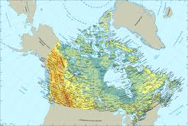 Map Of Canada by Map Of Canada U2014 Planetolog Com