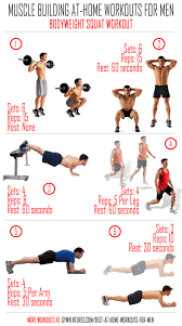 work out plans for men at home at home workouts for men 10 muscle building workouts