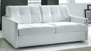 canap convertible cuir blanc canape lit cuir convertible canape lit cuir 3 places canapac