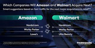 which companies will amazon and walmart acquire next