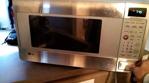 Lg Microwave Toaster Defective Lg Microwave Youtube