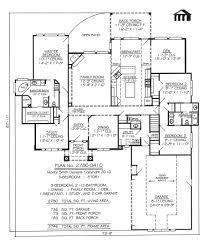 1 Story House Floor Plans 1 Story House Plans With 3 Car Garage