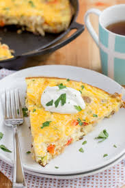 check out sausage u0026 hash brown frittata it u0027s so easy to make