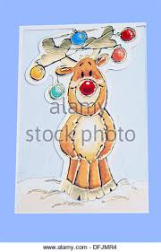rudolph nosed reindeer stock photos rudolph nosed