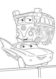fillmore flo disney cars coloring download u0026 print