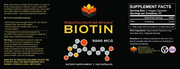biotin the most overlooked vitamin for healthy hair nails
