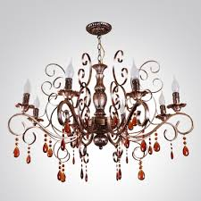Bronze Chandelier With Crystals Fashion Style Oiled Rubbed Bronze Chandeliers Crystal Lights