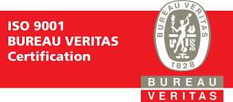 bureau veritas certification logo certified according to iso