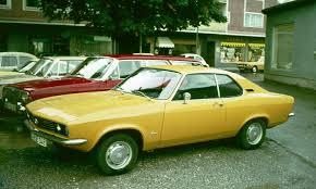 1970 opel commodore opel manta