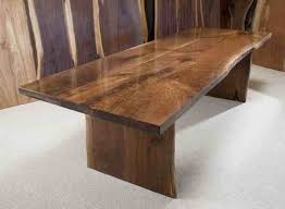 Walnut Slab Table Walnut Dining Table Josep Homes Collection