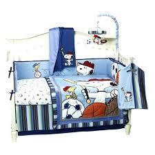 Snoopy Crib Bedding Baby Snoopy Nursery Carum