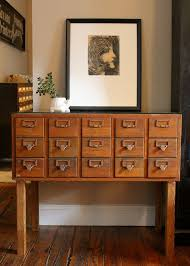 card catalog cabinet library card catalog cabinets cupboards ebay