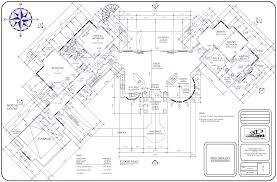 large floor plans big house floor plan large plans architecture plans 4063