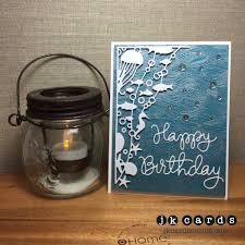 oceana pearl birthday hero arts waves background memory box