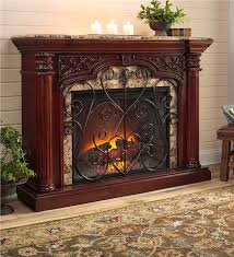 Electric Fireplace With Mantel Jamestown Electric Fireplace With Marble Mantel Electric